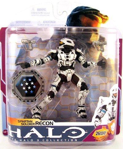 Halo Wave 2009 - McFarlane Toys Halo 2009 Wave 3 - Series 6 Spartan Soldier Recon