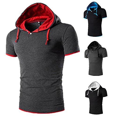 Shensee Handsome Men Sweatshirt Hoodie Casual Hooded T-shirts 2017 New Fashion