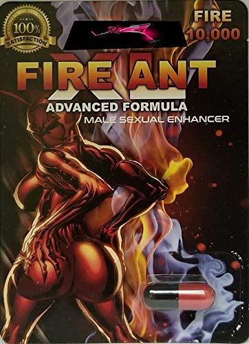 Fire Ant 10K And Green Ant Power King(Super Combo) Male Sexual Stimulant Best Enhancement Pills 1 Tin = 10 Doses And 1PILLS Plus Love Potion Pen