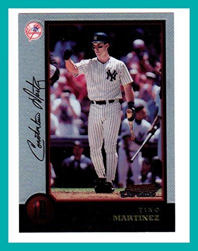 (1998 Bowman Chrome #43 Tino Martinez NEW YORK YANKEES)