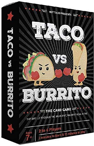 Taco vs Burrito - The Wildly Popular Surprisingly Strategic Card Game Created by a 7 Year Old | Amazon