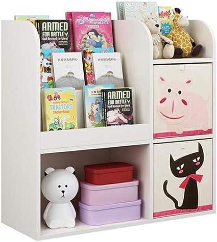 LYF Estantería para niños, Caja de Almacenamiento para ...