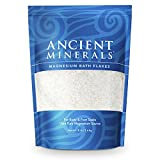 #6: Ancient Minerals Magnesium Bath Flakes 8lb - Pure Genuine Zechstein Magnesium Chloride - Bath Salt Supplement - Best for Topical Skin Absorption in Bath and Foot Soaks