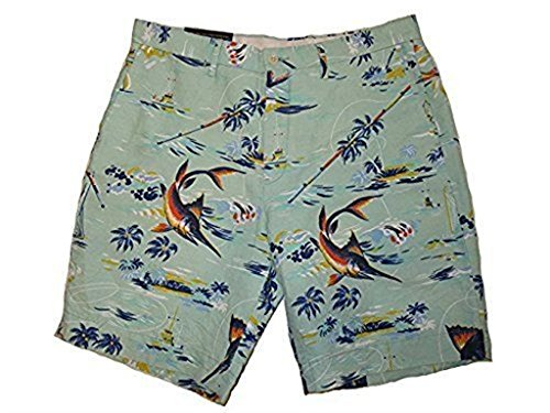 Polo Ralph Lauren Men's Classic Fit Chino Shorts-Sea Blue-35