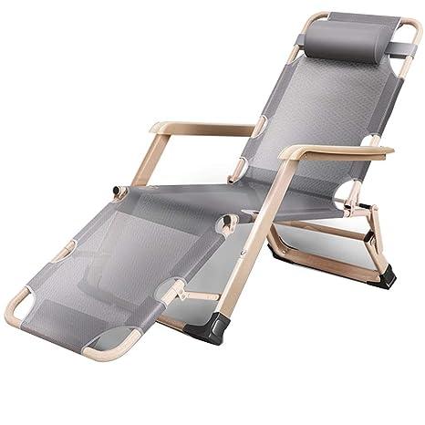 L-SYJH Tumbonas, sillas Plegables, Camas de Oficina, sillas ...