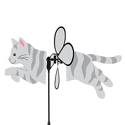 Premier Kites Petite Spinner, Gray Tabby: Toys & Games