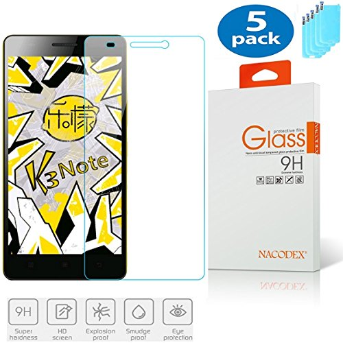 Tempered Glass Screen Protector for Lenovo K3 Note - 2