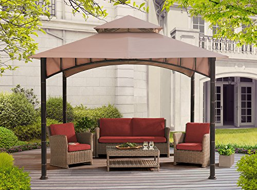 Sunjoy D-GZ136PST-N 10' X 10' Summer Breeze Soft Top Gazebo