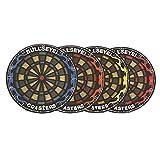 SODIAL(R) 4 Pcs Round Bullseye Coasters Dart Board Drink Bottle Beer Beverage Cup Mats (Multicolor)
