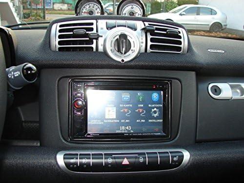 Mdc Radioblende Doppeldin Din Smart Fortwo 451 Ab Oktober 2010 Auto