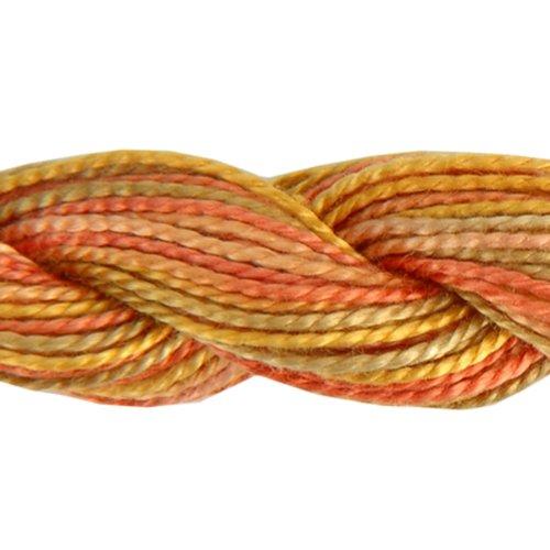 DMC 415 5-4126 Color Variations Pearl Cotton Thread, Size 5, 27-Yard, Desert - Dmc Thread Embroidery Cotton Pearl