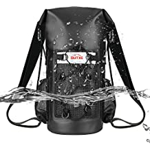 OUTXE 100% Waterproof Dry Bag Backpack 10L/20L Totally Sealed PVC-Free