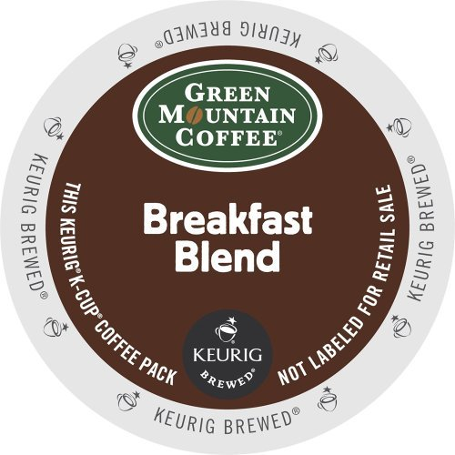 Green Mountain Coffee Breakfast Blend, K-Cup for Keurig Brewers, 100 Count