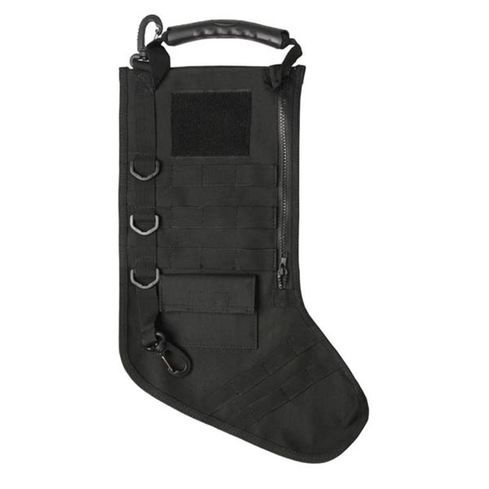 Tactical Christmas Stocking with Molle Gear in Black
