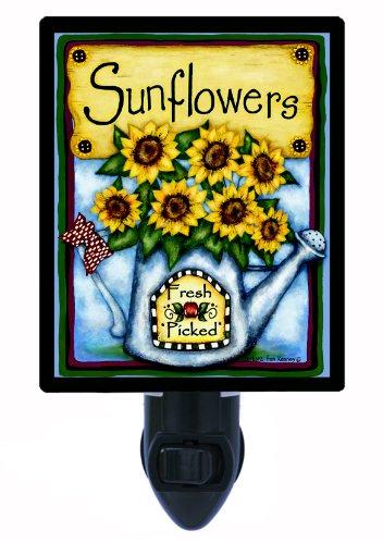 Floral/Flower Night Light - Fresh Picked Sunflowers