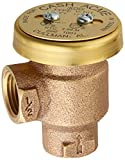 Cash Acme 17383-0000 V-101 1/2-Inch Brass Anti-Siphon Vacuum Breaker