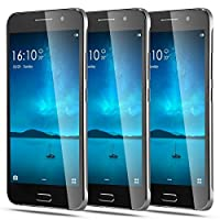 JUNING Unlocked GSM 5.0'' Android 5.1 Dual SIM Quad Core ROM 4GB 5.0MP Camera 3G Smartphone - Black