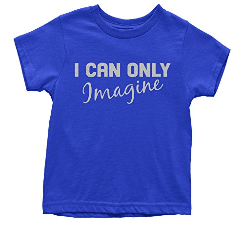Expression Tees Youth I Can Only Imagine T-Shirt Medium Royal Blue (Medium T-shirt Only Youth)