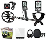 "Minelab EQUINOX 800 Multi-IQ Metal Detector with EQX 11"" DD Smart Coil, Wireless Headphones and WM08 Adapter."