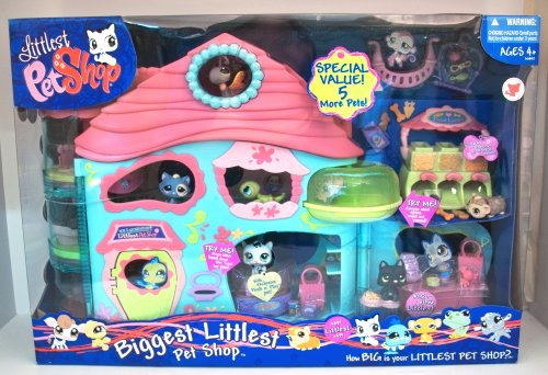 The Biggest Littlest Pet Shop with 7 Pets By Littlest Pet Shop Biggest Littlest Pet Shop