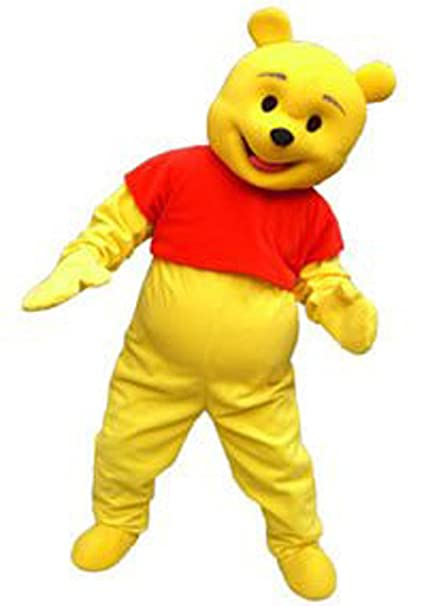 6836918a659f Amazon.com   Kooplus Winnie the Pooh Bear Mascot Costume Cartoon Character  Costume   Sports   Outdoors
