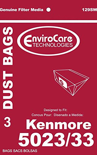 Vacuum Parts & Accessories Kenmore 5023 5033 20-5033 Type E Vacuum Cleaner Bags - Sears Canister Style Vac