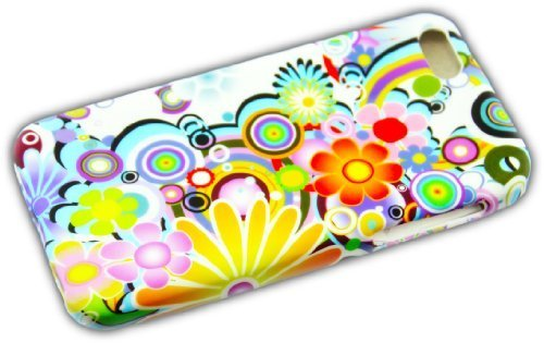 Apple iPhone 5C COLOR MIX Schutz-Hülle Design Silikon Case Schale Cover Etui thematys®