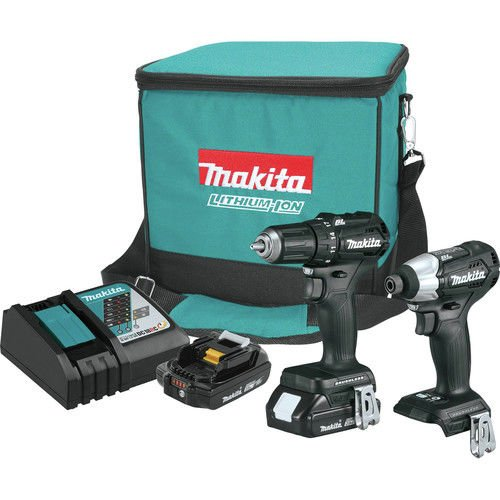 Makita CX200RBR 18V LXT Lithium-Ion Sub-Compact Brushless Cordless 2-Pc. Combo Kit (Certified Refurbished)