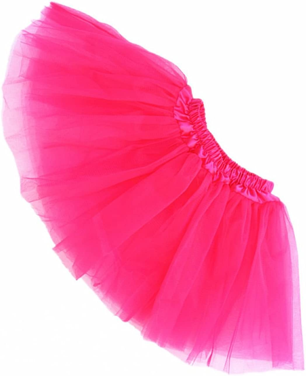 Buenos Ninos Girl's Tutu Assorted Colors Free Size for 3-8T