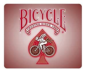 Mouse Pad Bicycle Playing Cards Red 2 Desktop Laptop Mousepads Comfortable Office Mouse Pad Mat Cute Gaming Mouse Pad