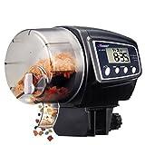 NICREW Aquarium Automatic Fish Feeder, Auto Fish Food Feeder with LCD Display for Aquarium