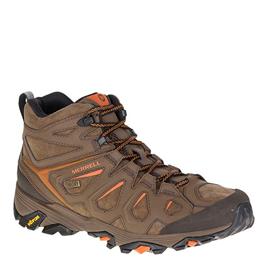 Mid Boot Merrell 8 Waterproof Earth Moab Men's Dark 5 FST Leather W r6I8r