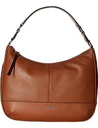 Calvin Klein Women's Classic Pebble Hobo Luggage Handbag