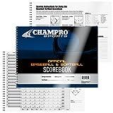 Champro Baseball Score Book (White)
