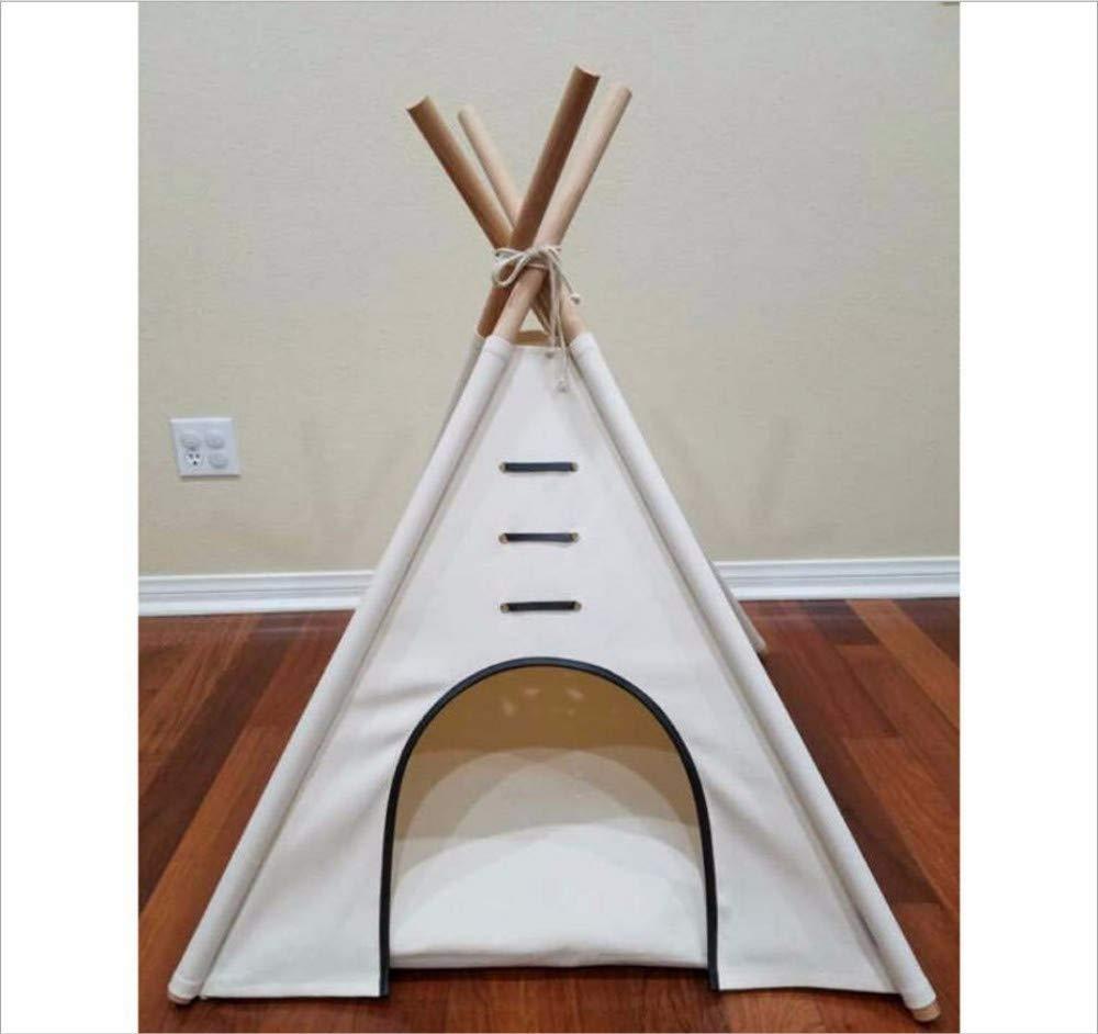 40x40x50cm GZDXHN Dog house solid color round door pet nest pet tent kennel cat nest pet supplies