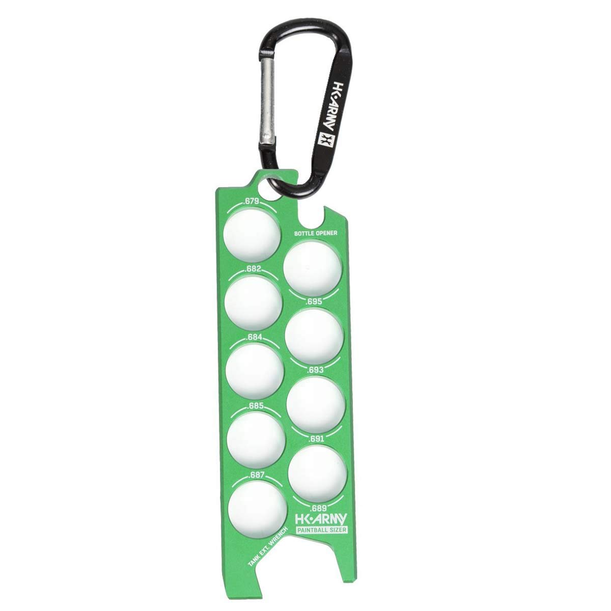 HK Army Ball Sizer Guide (Neon Green) by HK Army