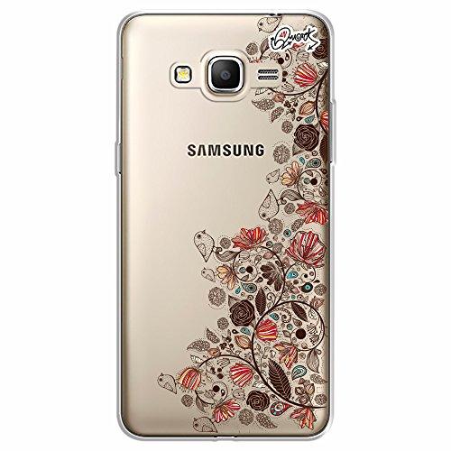 Capa Personalizada para Samsung Gran Prime - FLORES PASSAROS - Quark