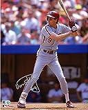 #2: Von Hayes Philadelphia Phillies Autographed 8'' x 10'' Batting Stance Photograph - Fanatics Authentic Certified