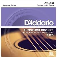 D'Addario EJ26 Phosphor Bronze Acoustic Guitar Strings,...