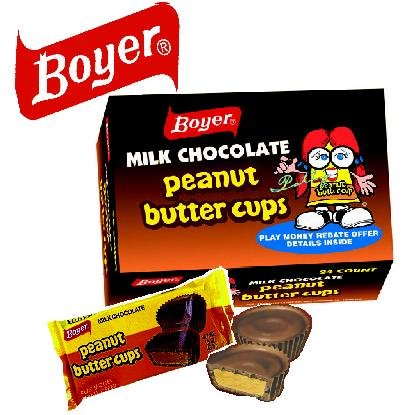 Boyer Candy Company Peanut Butter Cups