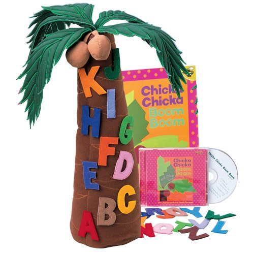 Chicka Chicka Boom Boom Props, Book & CD