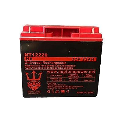 Jump N Carry JNC 660AIR (SP12-22) 12V 22Ah Nut & Bolt SLA Replacement Jumper Starter Battery by Neptune
