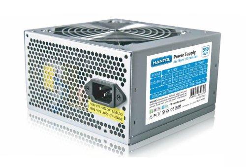 2 opinioni per Hantol HPSU550 550W ATX Stainless steel power supply unit- power supply units