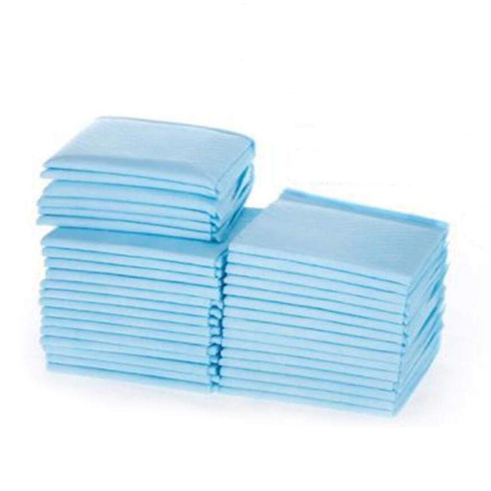 3345cm Disposable Pet Diapers, Pet Training Pads, Toilet Trainer Pad, Nappies Potty Mats, Pet Products Puppy Dog Pee Anti Slip Leakproof (100 Pack) (Size   33  45cm)
