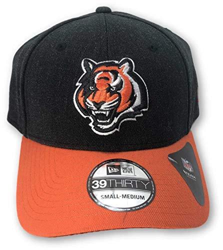 New Era Cincinnati Bengals 39THIRTY S/M Hat Black