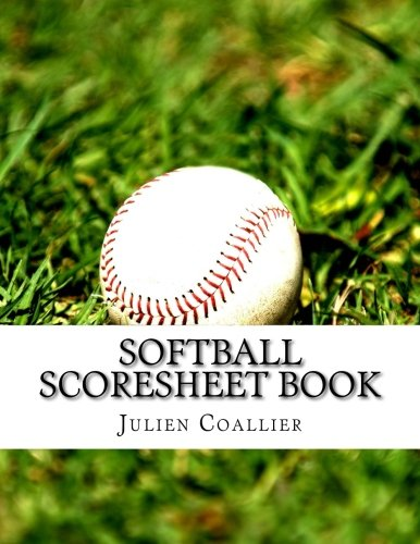 Softball Scoresheet Book: 100 Pages (50 sheets)