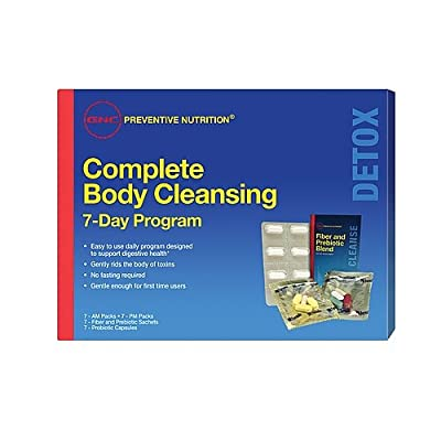 GNC 7 Day Complete Body Cleanse, 7 Count
