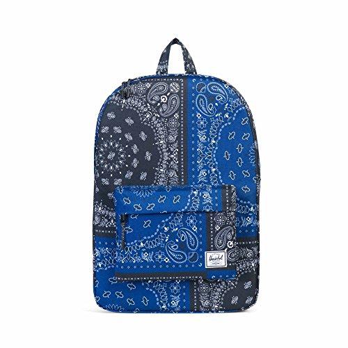 Tailored Backpack - Herschel Classic Backpack, Navy/Black Bandana