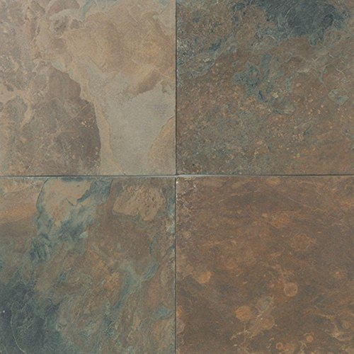 Natural Stone Collection California Gold 12 in. x 12 in. Slate Floor and Wall Tile (10 sq. ft. / -