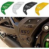 FATExpress Motorcycle CNC Aluminum Decoration Engine Side Cover Plate For 2015-2016 Kawasaki Vulcan S VN EN 650 EN650 15-16 (Green)